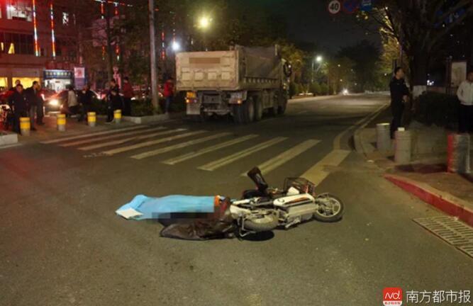 深圳两老师家访路上遭泥头车碾压,一人身亡!