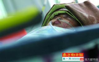 楼上扔苹果砸晕3月大女婴,东莞警方提取住户DNA查肇事者!