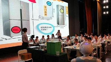 吸引6所美国中小学校长 深圳数学课竟这么好玩