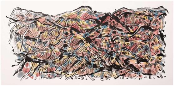 中国意象画_麦平意象绘画演绎中国梦 寄情山水谱写文艺情