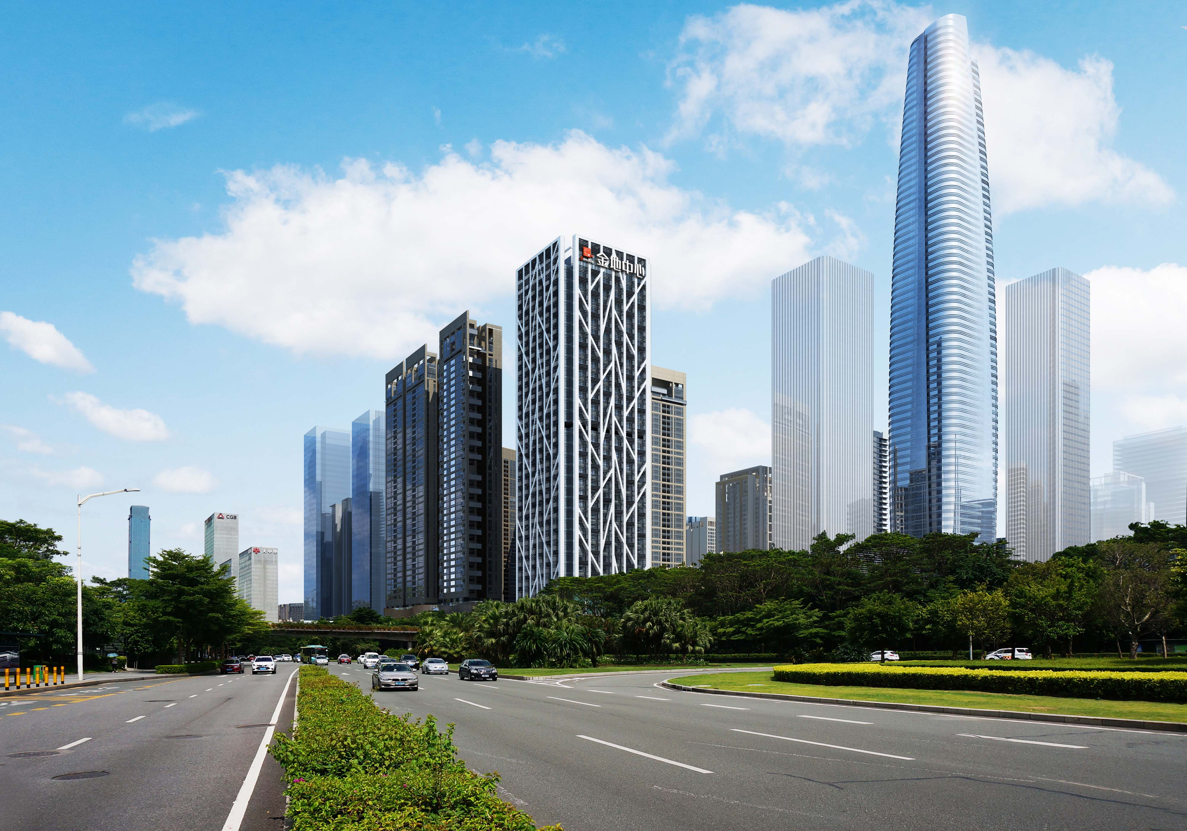 深圳中心区写字楼租赁热度不减,金融企业入驻多