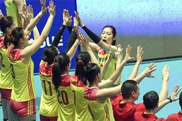 世界排球联赛香港站 中国女排首战告捷 朱婷表现亮眼