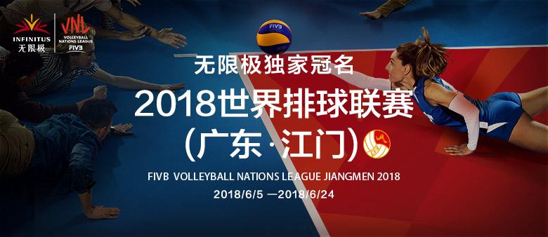 2018年世界排球联赛(广东·江门)