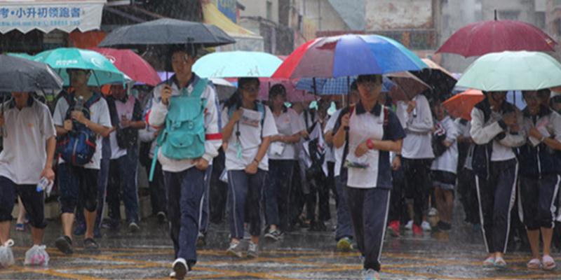 高考第二天,中山佛山珠海江门挂暴雨红色预警,停课不停考