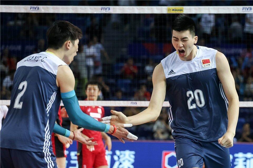 江门站-中国男排3-1擒获日本 终结世联赛六连败