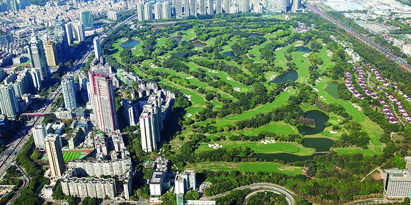 深高球场长期供2000会员专享 周边20万居民缺大型公园