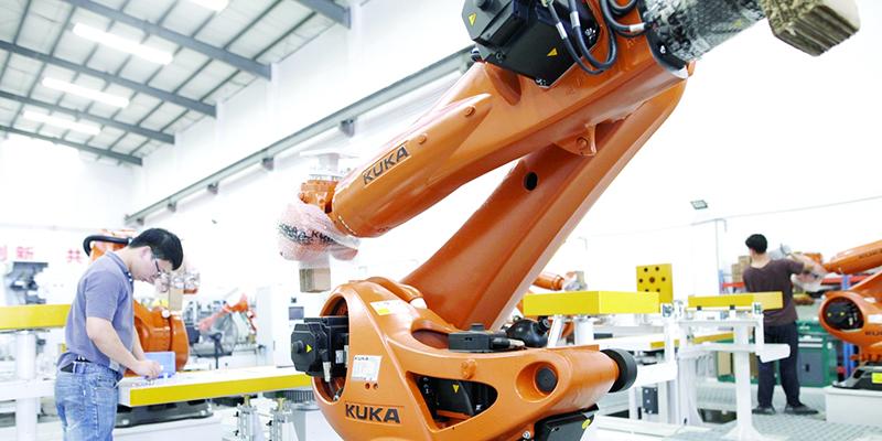 """国际""""四大家族""""先后落子,佛山机器人本体生产有望跻身全国第二"""