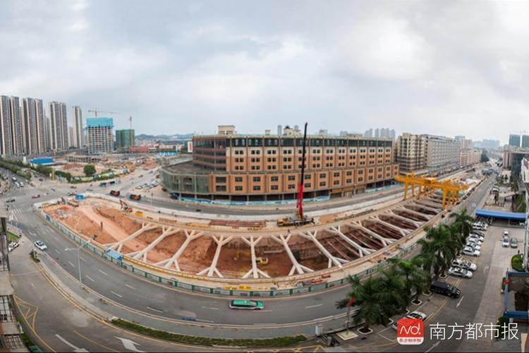 """深圳地铁建设""""14线齐发"""",未来还有8条对接莞惠"""