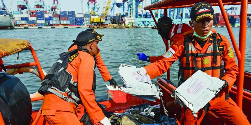 印尼狮航客机坠海 189人恐无生还