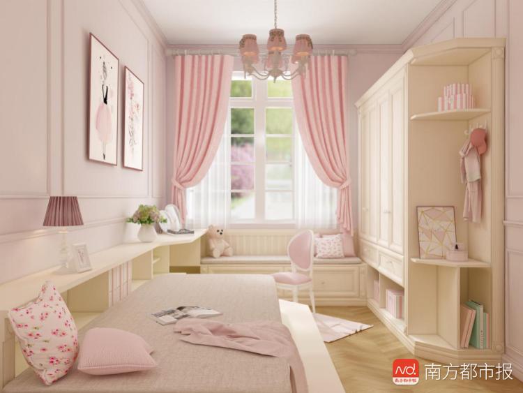 索菲亚全屋定制-致爱丽丝系列搭配亮色的森林物语花林粉阵.png