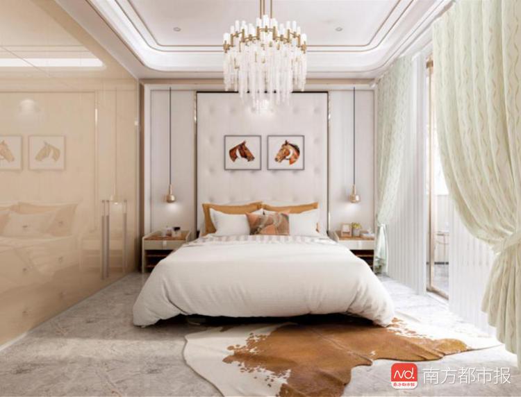 索菲亚全屋定制-光影鎏金搭配搭配具有光泽感的季风洋流水波纹浅色窗帘.png
