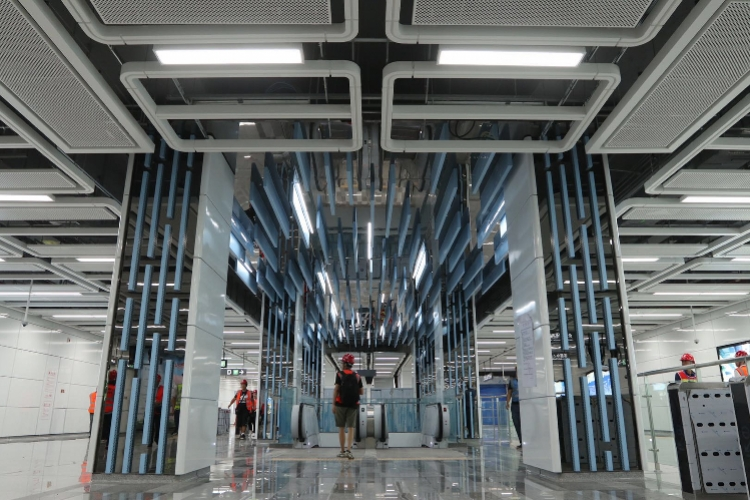 癹f�i)��&9�9.�_深圳地铁9号线二期工程完成热滑试验,年内开通试运营