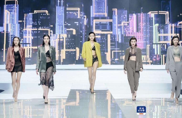 中国内衣文化周深圳开展,金肚兜、超模成看点