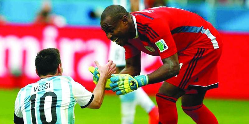 尼日利亚,梅西人生第一男配