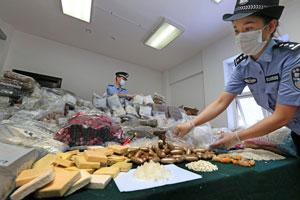深圳警方缴获毒品1331公斤 摧毁一国际贩毒线路