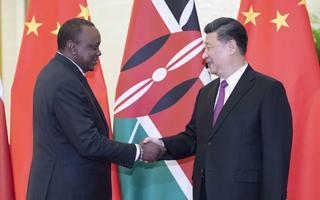 习近平会见肯尼亚总统