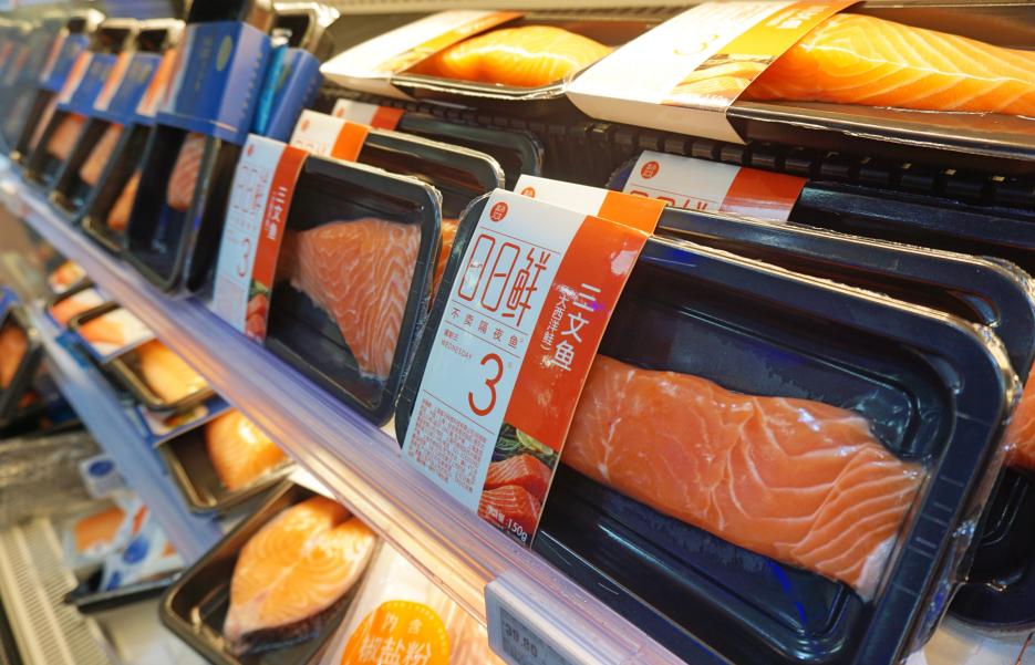 挪威三文鱼中国销量暴增  盒马助力进口海鲜飞入百姓家