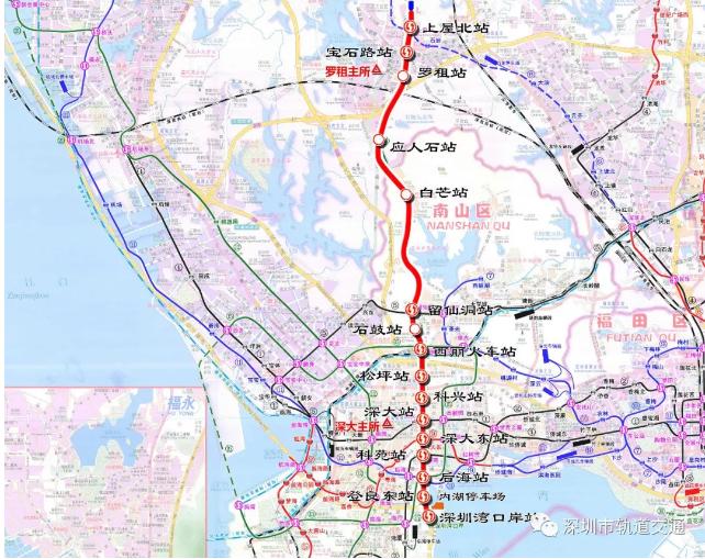 深圳地铁这些路段从今起交通临时调整!通勤或受影响
