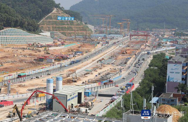 深莞交通要道公常路中大深圳校区段要进行下穿改造