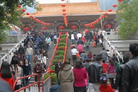 春节期间深圳仙湖植物园和弘法寺将实行分时管控