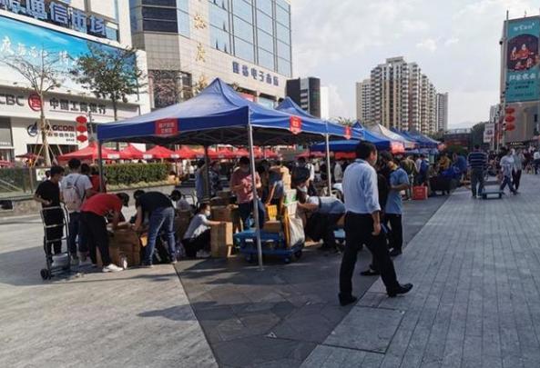 深圳华强北过万家企业复工,22家市场仍延迟复工