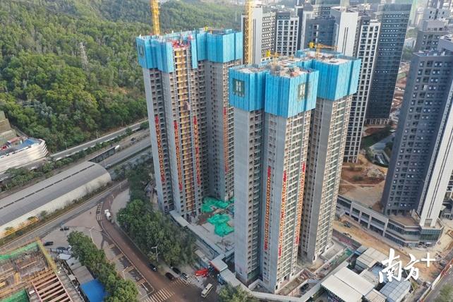 提供540套安居房!龙岗回龙埔安居项目有望年底竣工