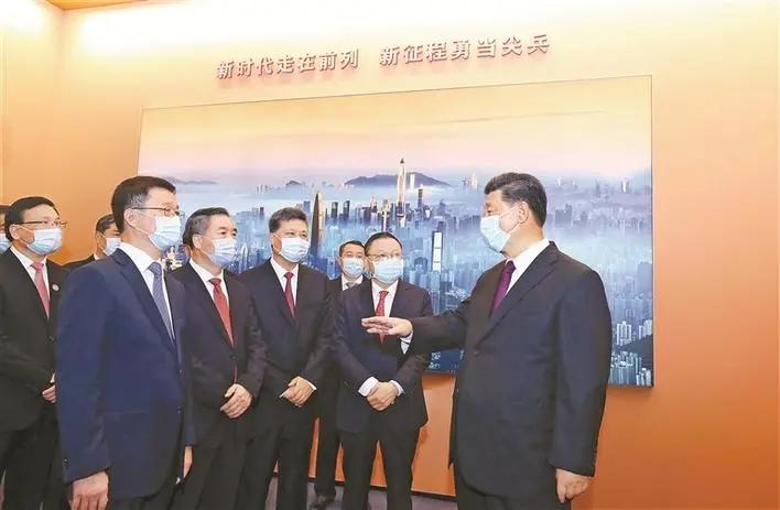 习近平总书记在深圳