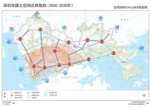 深圳邀你一起预见2035年!《深圳国土空间总体规划(2020-2035年)》草案发布