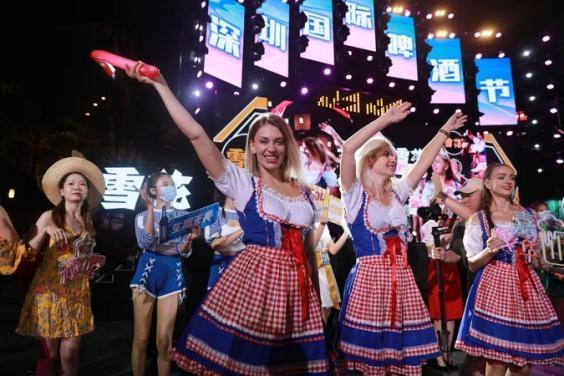 缤纷啤酒节,狂欢摩天轮,2021宝安购物节在欢乐港湾开幕